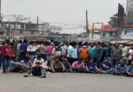 বরিশাল বিশ্ববিদ্যালয়ের সামনে ফের ববি শিক্ষার্থীদের অবরোধ