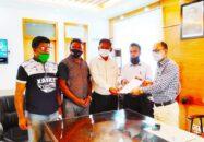বরগুনায় বিএমএসএফ এর প্রধানমন্ত্রীর বরাবর স্বারকলিপি প্রদান