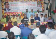 বরিশালে জেলার স্বেচ্ছাসেবক দলের কর্মী সমাবেশ