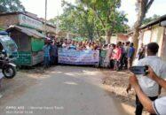 বিএনপির কেন্দ্রীয় নেতা রাজিব আহসানের গ্রেফতারের প্রতিবাদে হিজলায় বিক্ষোভ মিছিল