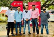 বরিশালে Hero Hunk 150R Regional Launch