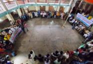 সম্প্রতি বিনষ্ট'র প্রতিবাদে বরিশালে সাংস্কৃতিক কর্মীদের মানববন্ধন ও প্রতিবাদ সমাবেশ
